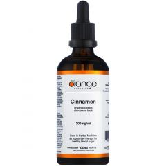 Orange Naturals Cinnamon, 100ml Tincture