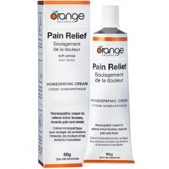 Orange Naturals Pain Relief Homeopathic Cream, 50g (Will Ship From West Warehouse)