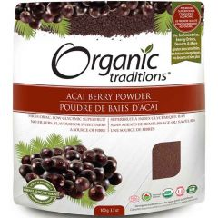 Organic Traditions Acai Berry Powder (100% Pure Freeze Dried), 100g