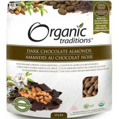 Organic Traditions Almonds (Dark Chocolate Covered)