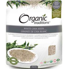 Organic Traditions Chia Seeds (White Whole)