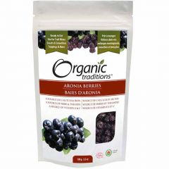 Organic Traditions Dried Aronia Berries, 100g