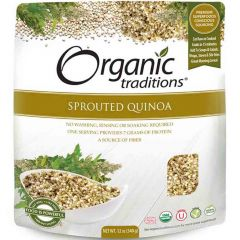Organic Traditions Sprouted Quinoa, 340g