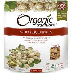 Organic Traditions White Mulberries