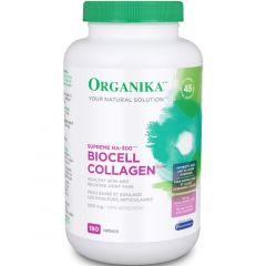 Organika BioCell Collagen 500mg, HA-300 (Hyaluronic Acid)