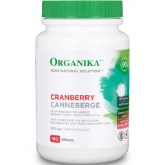 Organika Cranberry Extract, 300mg
