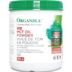 Organika MCT Oil Powder (Sustainably Sourced), 150g
