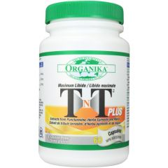 Organika TNT Plus Horny Goat Weed and Maca, 60 Capsules