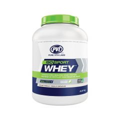 PVL 100% Natural Iso Sport Whey, Grass Fed
