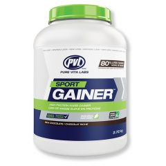 PVL 100% Natural Sport Gainer, Made with Grass Fed Whey