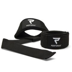 PERFORMA  Lifting Straps, Black and White