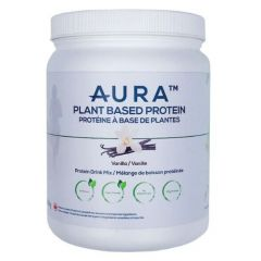 Aura Nutrition Plant-Based Protein Powder Vanilla, 500g