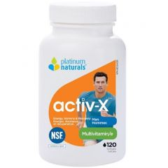 Platinum Activ-X Multivitamin for Men