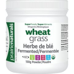 Prairie Naturals Organic Fermented Wheat Grass Juice Powder
