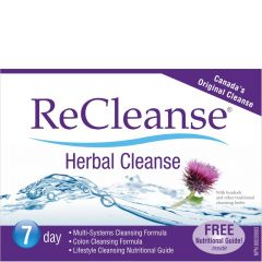 Prairie Naturals ReCleanse Herbal Cleanse, 7 Day Whole Body Detox Kit