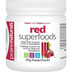 Prairie Naturals Red Superfoods Powder (Organic Fruits and Vegetables)