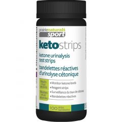Prairie Naturals Sport Keto Strips (Ketosis Test Strips) Results in 40 Seconds, 100 Strips