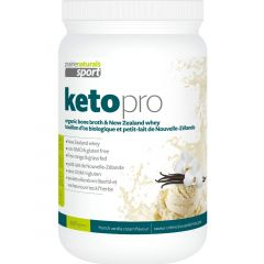 Prairie Naturals Sport Keto Pro Organic Bone Broth & New Zealand Whey Protein Powder