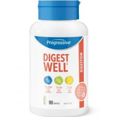 Progressive Digest Well (Plant Based Digestive Enzymes), 90 Capsules