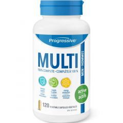 Progressive MultiVitamins For Active Men Vegetable Capsules