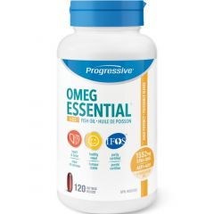 Progressive OmegEssential + D, High Potency Fish Oil