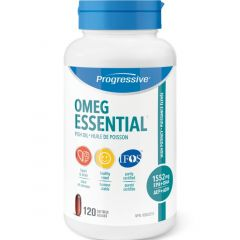 Progressive OmegEssential High Potency Fish Oil (1552mg EPA + DHA)