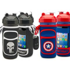 PERFORMA FitGO Marvel all-in-one shaker cup and organizer