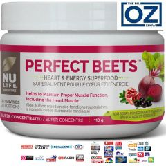 Nu-Life Perfect Beets Superfood (Acai Pomegranate Flavour), 110g / 20 Servings
