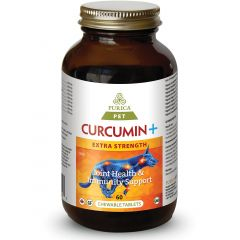 Purica Pet Curcumin+ Extra Strength (Dogs, Cats & Small Animals), 60 Chewable Tablets