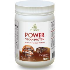 Purica Power Vegan Protein (with 800mg Organic Chaga per Serving), 630g