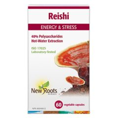 New Roots Reishi 500mg (Hot Water Extracted)