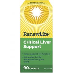 Renew Life Critical Liver Support, 90 Vegetable Capsules