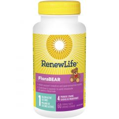 Renew Life FloraBEAR, Chewable Probiotic For Kids (Refrigerated)