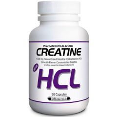 SD Pharmaceuticals Creatine HCL 750mg (Nearly 50% GREATER Absorption than Buffered Creatine)