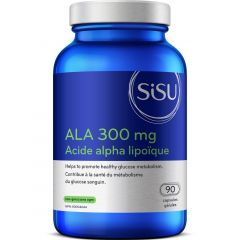 SISU ALA 300mg (High Potency Alpha Lipoic Acid), 90 Veg Caps