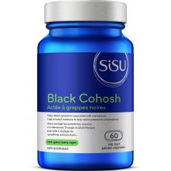 SISU Black Cohosh 150mg Standardized Extract, 60 Veg Caps