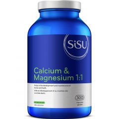 SISU Calcium & Magnesium 1:1 with Vitamin D