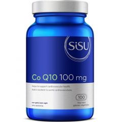 SISU Co Q10 100mg Vegetable Capsules
