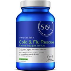 SISU Cold & Flu Rescue with Ester-C, 60 Veg Caps