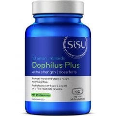 SISU Dophilus Plus Extra Strength 10 Billion, 60 Veg Caps (Refrigerated)