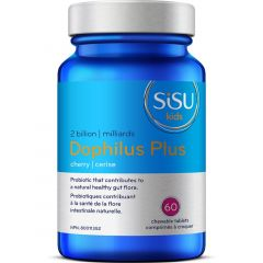 SISU Dophilus Plus For Kids & Adults, Chewable Probiotic 2 billion