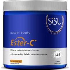 SISU Ester-C Powder with Citrus Bioflavonoids, 125g