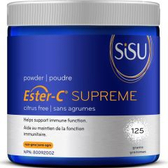 SISU Ester-C Supreme Powder, 125g