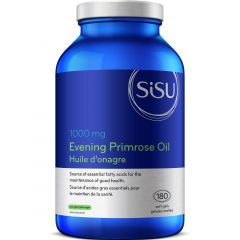 SISU Evening Primrose Oil 1000mg, 180 Softgel Caps
