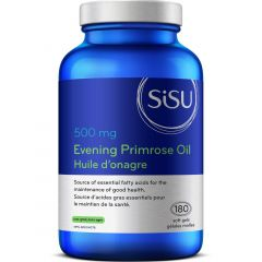 SISU Evening Primrose Oil 500mg, 180 Softgels