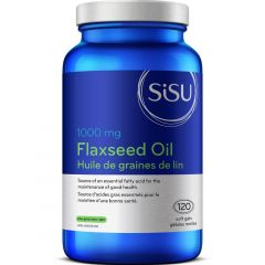 SISU Flax Seed Oil 1000mg, 120 Softgels