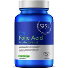 SISU Folic Acid 1mg, 90 Tablets