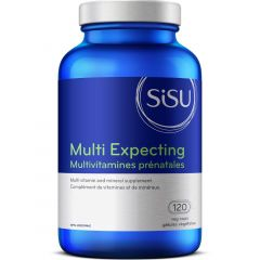 SISU Multi Expecting Prenatal Multivitamin (Before, During and After Pregnancy and Breastfeeding), 120 Veg Caps