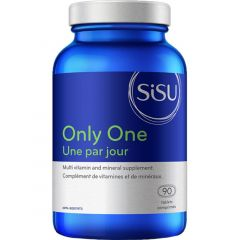 SISU Only One with Iron (One a Day Multivitamin and Mineral Complex), 90 Tablets