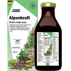 Salus Alpenkraft Herbal Cough Syrup (Adult and Kid Friendly), 250ml